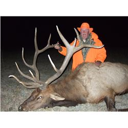 5-Day Fully Outfitted Colorado Archery Bull Elk Hunt for Two (2) Hunters