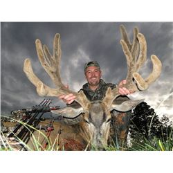 Archery, Muzzleloader or Rifle Mule Deer Hunt on Private Ranch in Southern Colorado