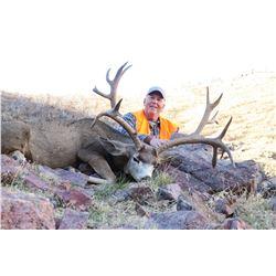 2019 Utah Fillmore, Oak Creek Buck Deer Landowner Permit