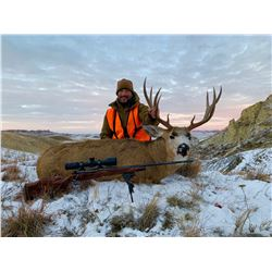 5-Day Rifle Mule Deer Hunt in Montana for One (1) Hunter