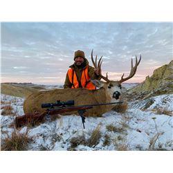 """The John Snow Experience"" – Gun/Scope/SE Montana Mule Deer Hunt Combo"