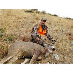 2019 Washington Mule Deer Permit