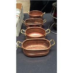 4 copper pieces