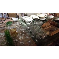Glass and Platters