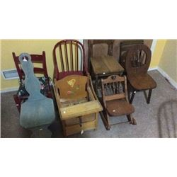 8 Kid Chairs