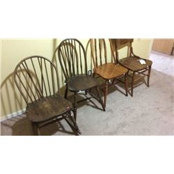 7 Antique Chairs