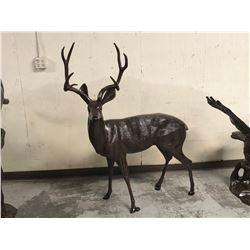 Buck Deer Head Up