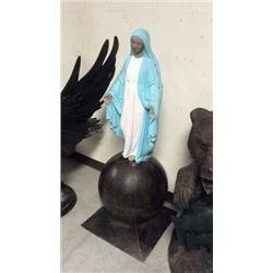 Mary on a ball