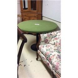 Cast Iron Base Poker Table