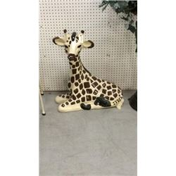 Laying Giraffe