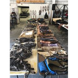 SADDLE AND TACK AUCTION STARTING APPROX 4PM