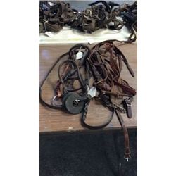 2 Used Bridles