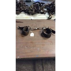Set Of Used Chain Hobbles
