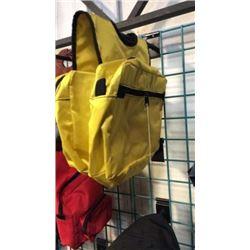 Yellow Cordura Saddle Bag-new