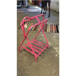 Pink Saddle Stand New