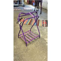 Purple Saddle Stand-new