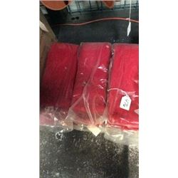 Red Fleece Cinch Guards-new