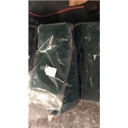Green Fleece Cinch Guards-new
