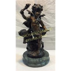 Cherub Bronze By American Foundry