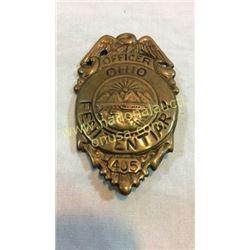 Penitentiary Officer Badge Ohio