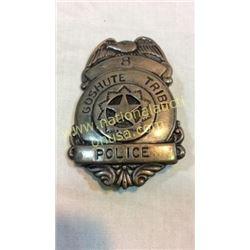 Goshute Tribe Police Badge