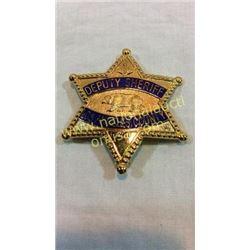 La County Deputy Sheriff Badge