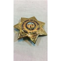 California Department Of Corrections Badge