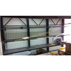 Heavy Duty Lighted Display Shelving