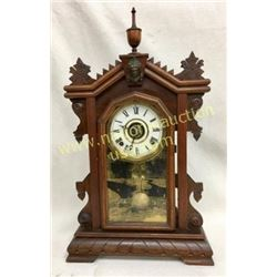 Rare Victorian Liberty Shelf Clock