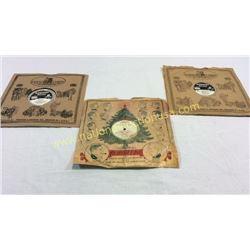 3 Edison Records. 1 Rare Find