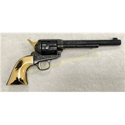 Colt Saa Revolver Engraved & Gold Plated