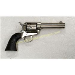 Colt Saa Revolver With Nickel Finish