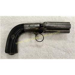 4 Barrel Pocket Pistol. 1880's Serial #2