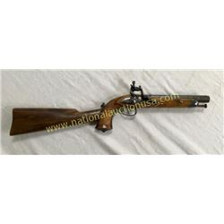 Flintlock Officers Pistol. Circa 1840's