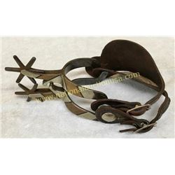 Inside Marked Crocket Spurs