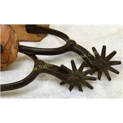 Pair North & Judd Anchor Marked Spurs