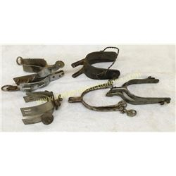 Collection Of 5 Pair Spurs