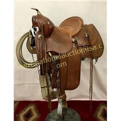 Great Fred Mueller Denver Colorado Saddle