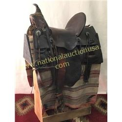R. T. Frazier Puebla Colorado Saddle