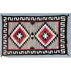 "Early Navajo Rug 37"" X 60"""