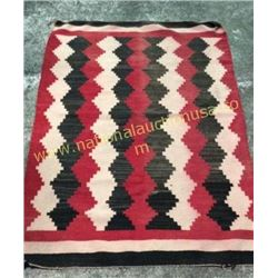 Early Navajo Indian Rug 1940's
