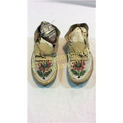 Plataue Moccasins Loomed Beaded