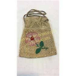 Nez Perce Beaded Bag 1920s