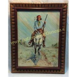 Geronimo By Rex Moore. Original 1920's