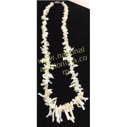 White Oyster Necklace