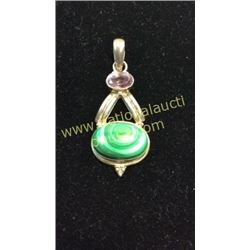 Sterling Malecite Pendent