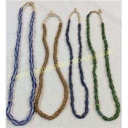 4 Trade Bead. Necklaces