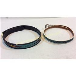 2 Beaded Belts