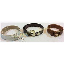 3 Western Belts