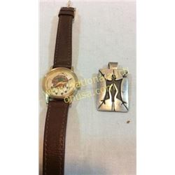 Watch And Sterling Pendent